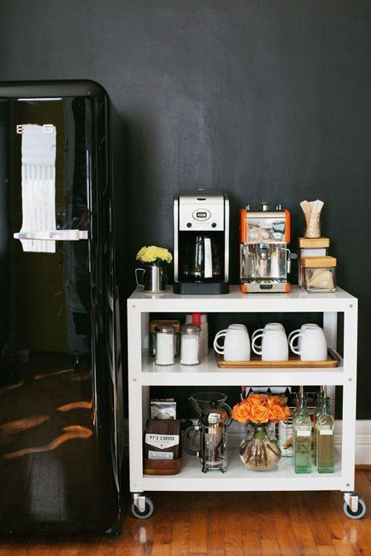 coffee talk | sfgirlbybay #interior #design #decor #kitchen #deco #coffee #decoration