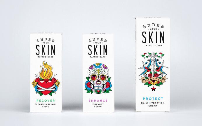 Packaging under you skin —Robot food