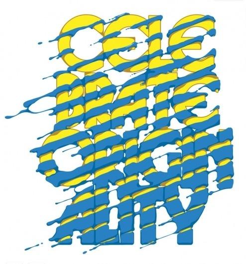 CUSTOM LETTERS, BEST OF 2010 DAY 2 — LetterCult #lettering #alex #trochut #lettercult #type