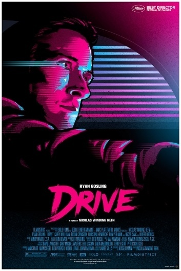Drive movie poster - Signalnoise - The art of James White
