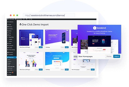 SaasLand - true multi-purpose theme for startups, business, agencies and more