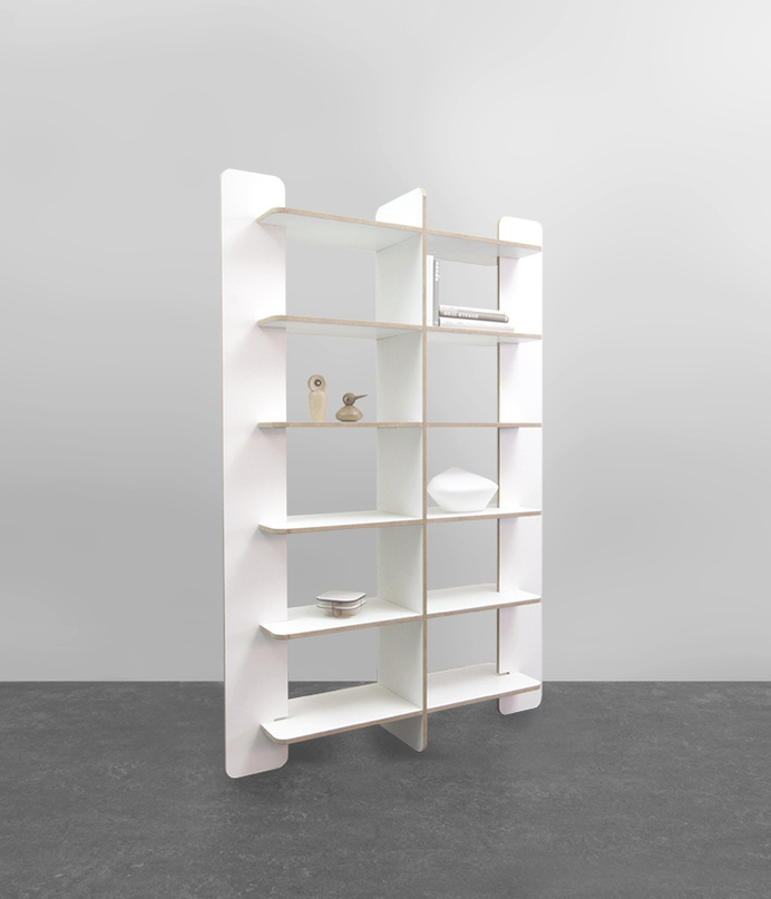 Shelfie by Gerard de Hoop #shelving #furniture #minimalism