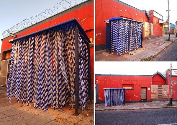 CJWHO ™ (Beautiful Urban Interventions by R1 Active street...) #installation #africa #design #south #johannesburg #photography #art