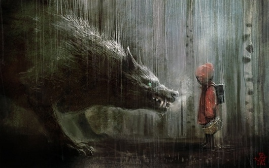 Google Image Result for http://cghub.com/files/Image/056001-057000/56826/262_large.jpg #red #riding #fairytale #little #wolf #storybook #hood #scary