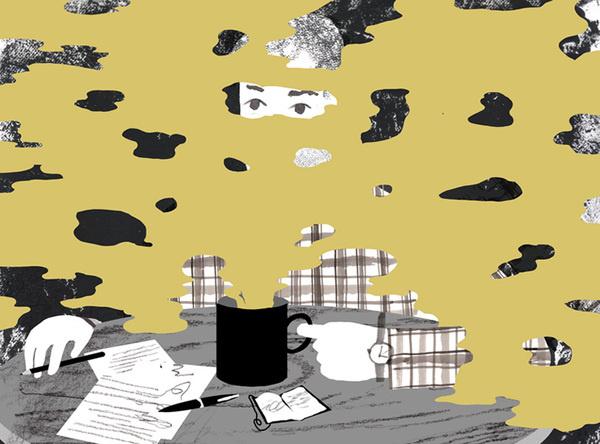 """Barista Forever"" by Jon Han #illustration"
