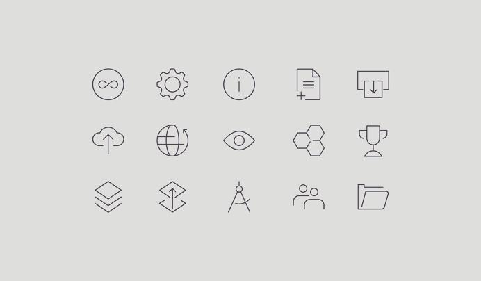 Stevenson Systems by Socio Design, United Kingdom #brand #identity #logo #icon #symbol #illustration