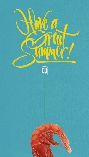All sizes | Have a Great Summer! | Flickr - Photo Sharing! #calligraphy #barcellona #luca #brush #typography