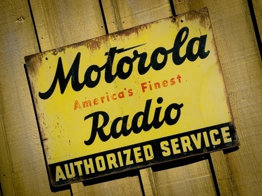 All sizes | Old Motorola Sign | Flickr - Photo Sharing!