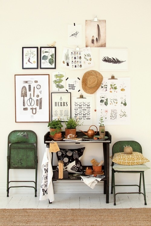 image #interior #decoration #space #green