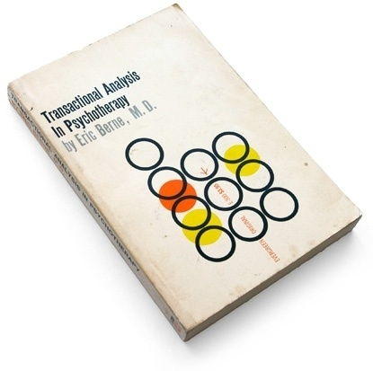 Transactional Analysis in Psychotherapy, 1961 : Book Worship #cover #circle #graphic #book