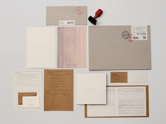 FormFiftyFive – Design inspiration from around the world » Blog Archive » Australasia Identity/Branding #print #identity #branding #stationery