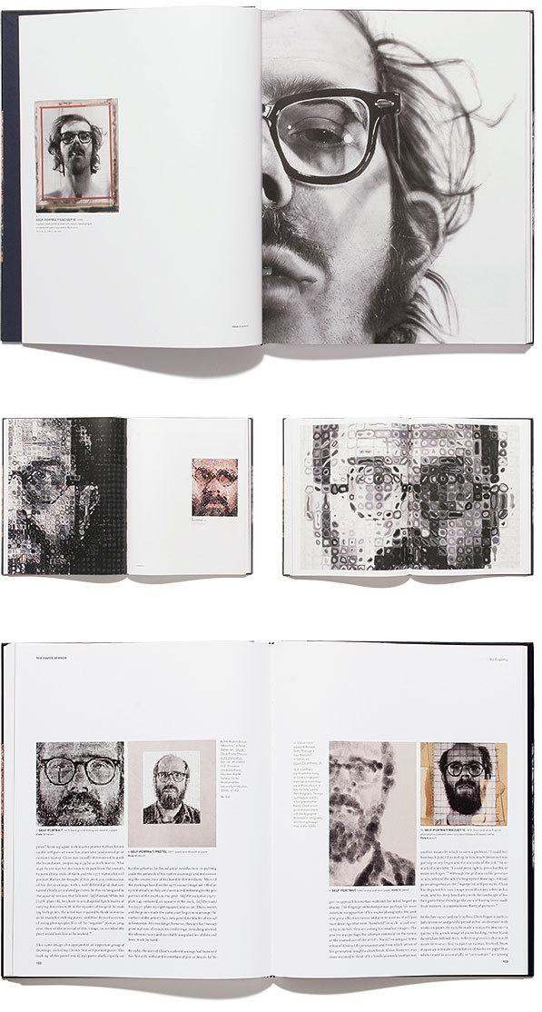 Chuck Close #layout