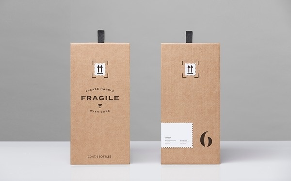Anagrama | Winecast #labels #packaging #print #wine #kraft