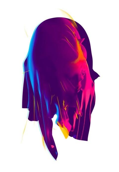 Tom Sewell | PICDIT #digital #design #color #art