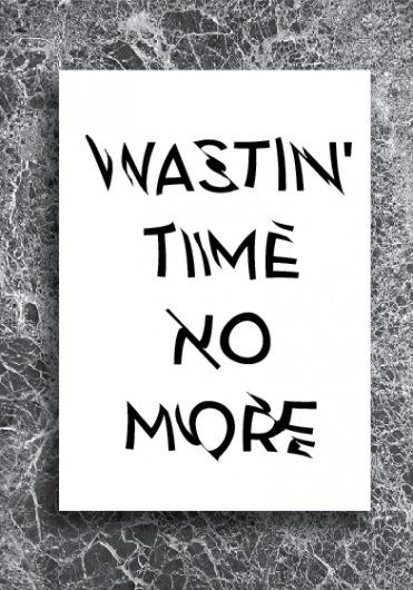 P O S T E R S + - Thrashin' #poster #typography