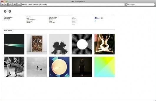 Butter #site #design #website #grid #minimal #web #mixtape #club