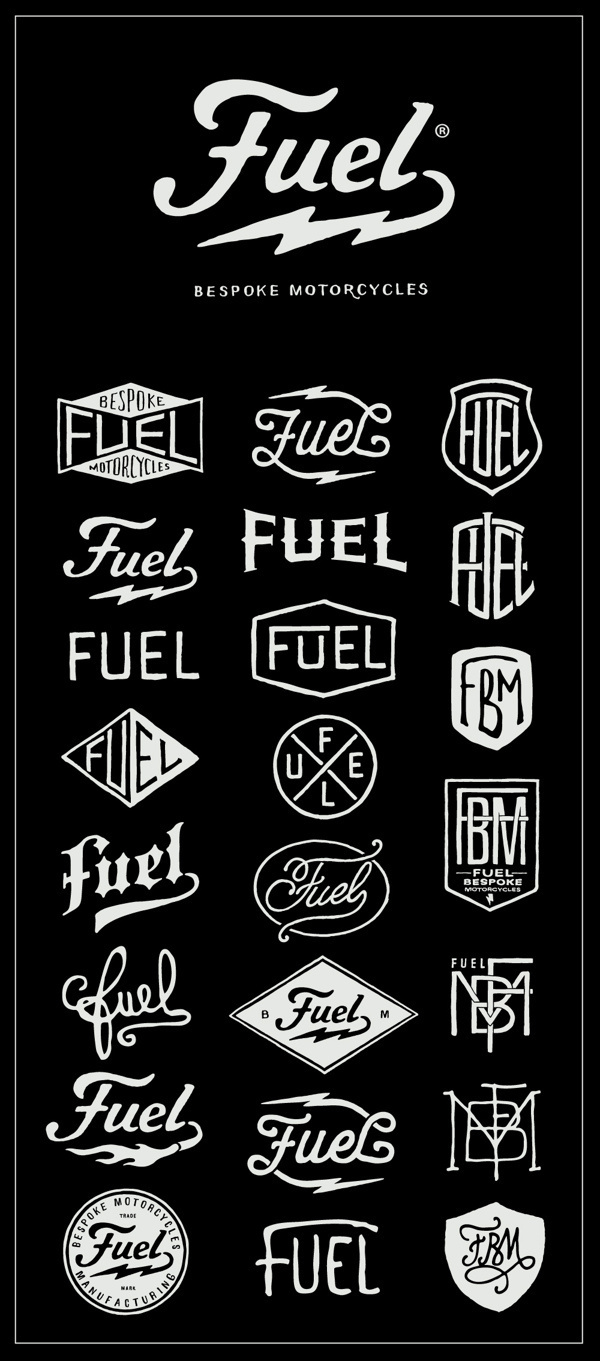 Fuel Motorcycles New logo on Behance #fuel #design #bmd #logo #motorcycle