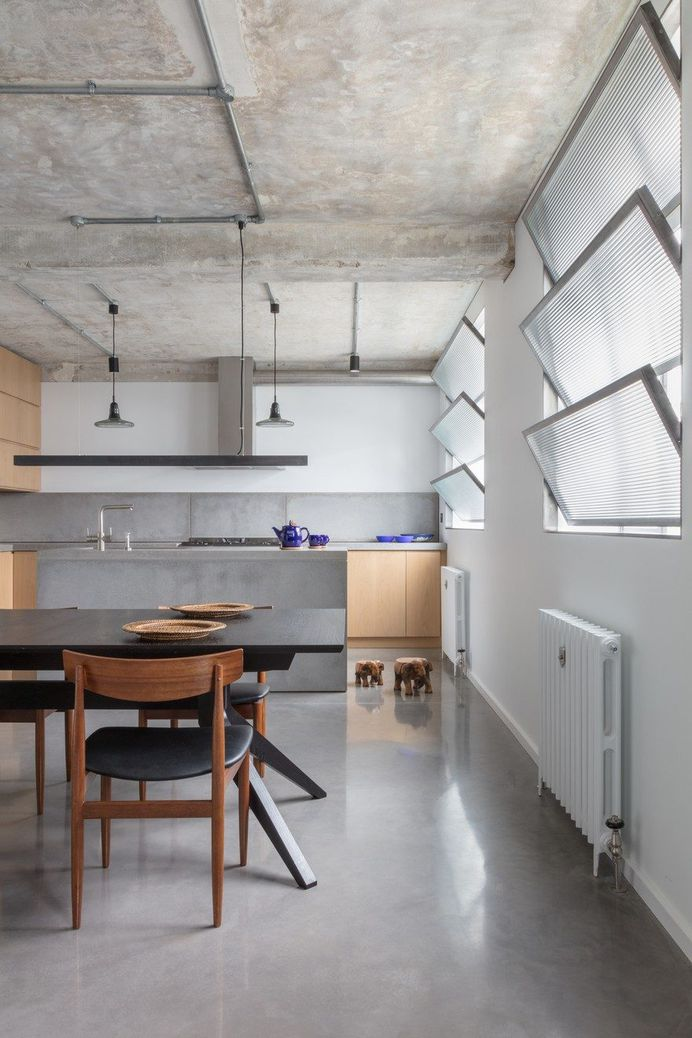 Former Factory Building Converted into a Family Home 7