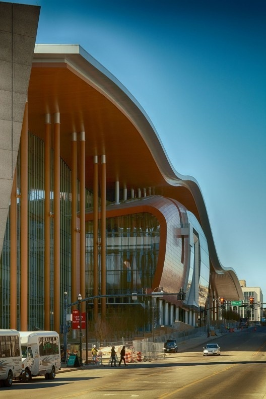 CJWHO ™ (Music City Center | tvsdesign Located along Fifth...) #nashville #center #city #design #photography #architecture #music