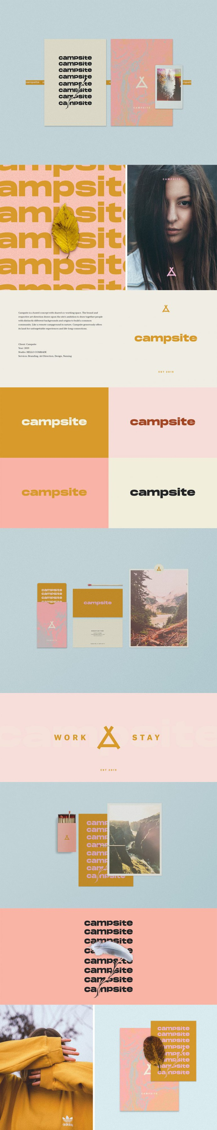 Campsite | Brand Identity