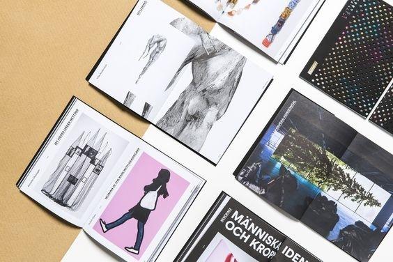 Touch - exhibition catalogue for Espoo Museum of Modern Art with Saastamoinen Foundation. Design: Kuudes Kerros, Tony Eräpuro. #kuudeskerro