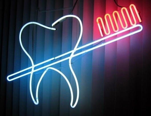 All sizes | Tooth-Brush | Flickr - Photo Sharing! #teeth #neon