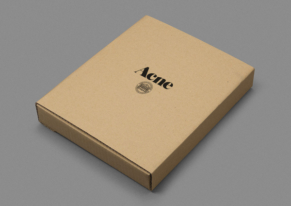 Acne, Rodeo #packaging #acne