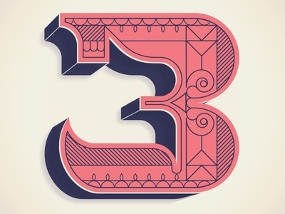 typeverything.com, alex perez #numbers #type #three