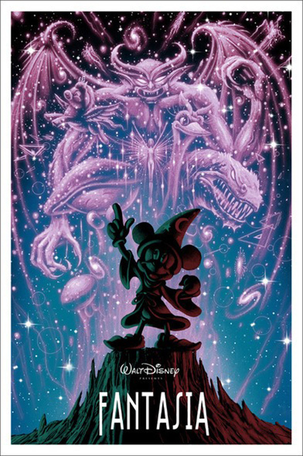 Reinvented Disney posters by Mondo-Fantasia #illustration #poster