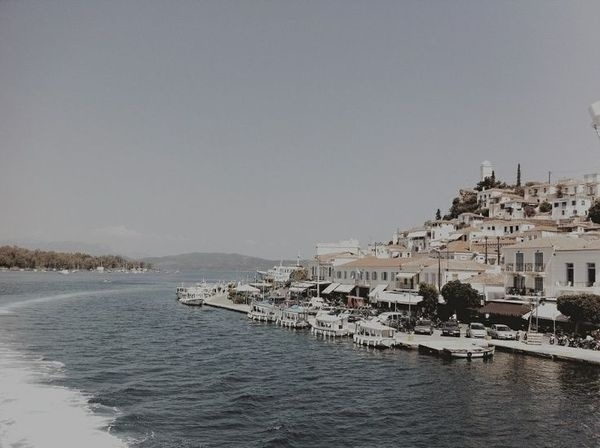 Poros island. #greek #oldschool #island #sea #summer