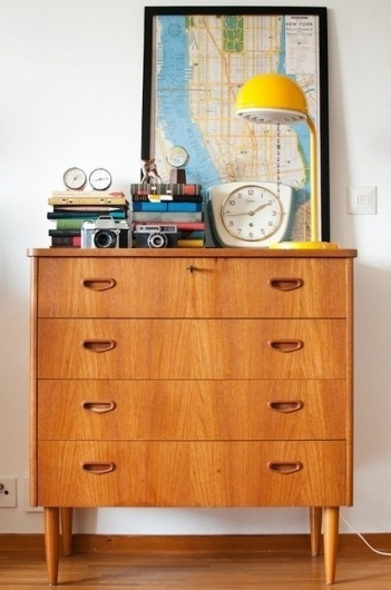 Small Space Vignette: How To Dress Up Your Dresser | Apartment Therapy DC #interior #dresser #indoor #ikea #apartment #room