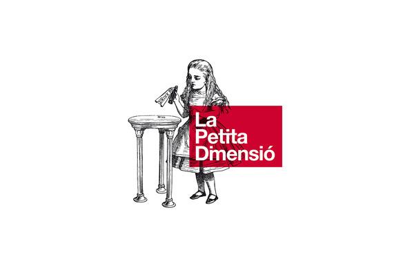 La Petita Dimensió #logotype #estudi #design #graphic #alice #torras #lpd #conrad #petita #la #architecture #dimensi #wonderland