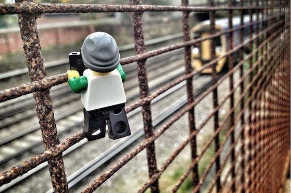 The Legographer 4 #miniature #photography #lego #photographer