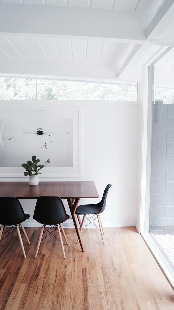 Dining room. #minimalist