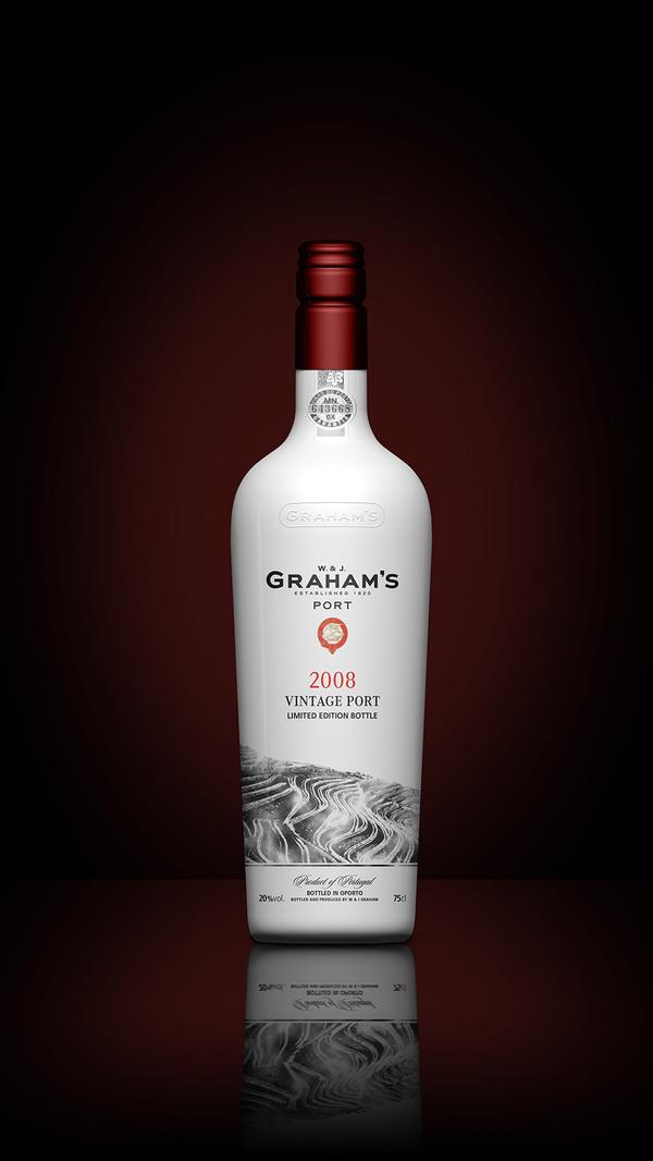 Grahams Port Bottle Concept Packaging #bottle #packaging #render #wine #port #3d