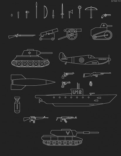 מקלות וא×'× ×™× — אאא #font #alef #weapons