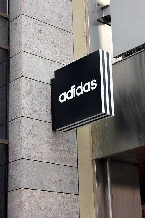 Adidas signage #identity #wayfinding #signage #adidas