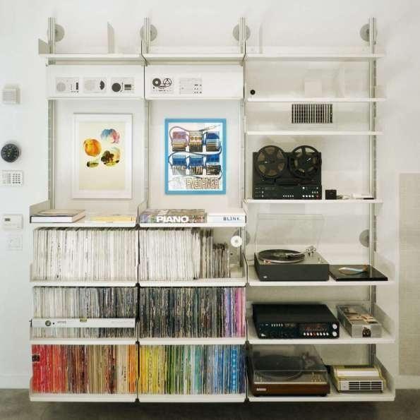 HifiStorage #vitsoe #color #braun #minimal #rams #dieter #organized
