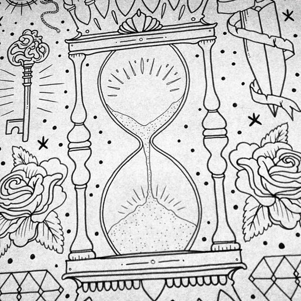 Ollie Munden #inspiration #illustration #tattoo #roses