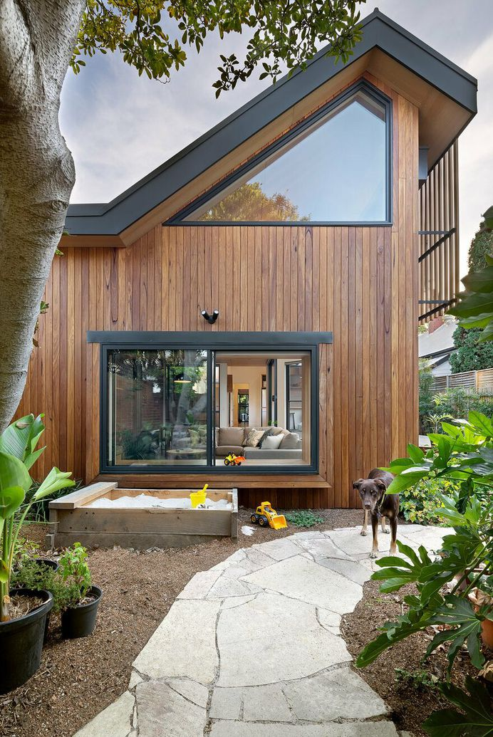 Passive Extension and Renovation, Magnolia Soul Family House