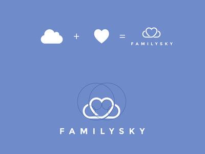 Family #heart #family #cloud #sky