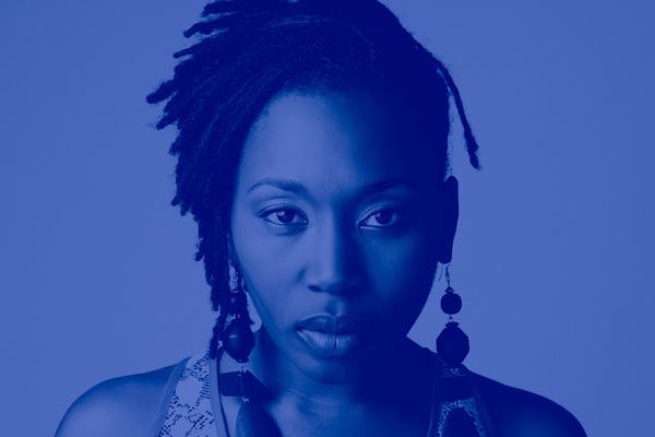 blue #creative #locks #woman #black #silence #photography #blue