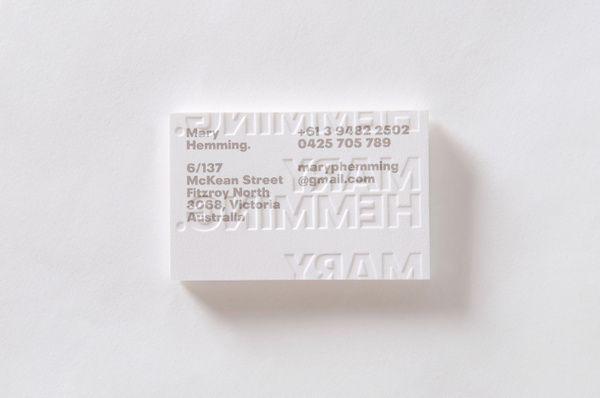 Mary Hemming Projects A Friend Of Mine #emboss #cards #white #business