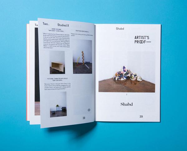 «StudioLin — Sight Unseen» в потоке «Журналы / Книги, Типографика» — Посты на сайте Losko #magazine #typography
