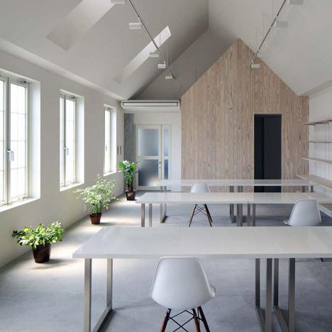 Kawanishi Fam office interior by TT Architects #box