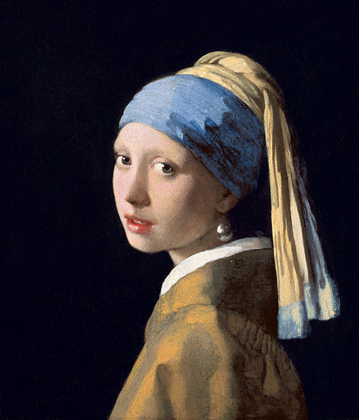 Johannes Vermeer, Girl with a Pearl Earring (1665)