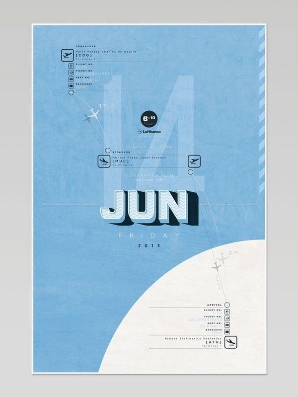 Airport Project - Nicolas Cremmydas #travel #illustration #plane #poster #airport