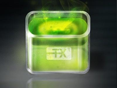 Toxic_icon #icon #design #iphone #app #mobile #device