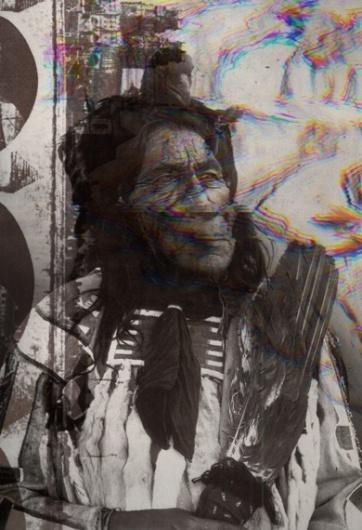 Lee Wegener #american #design #photography #art #scanner #native