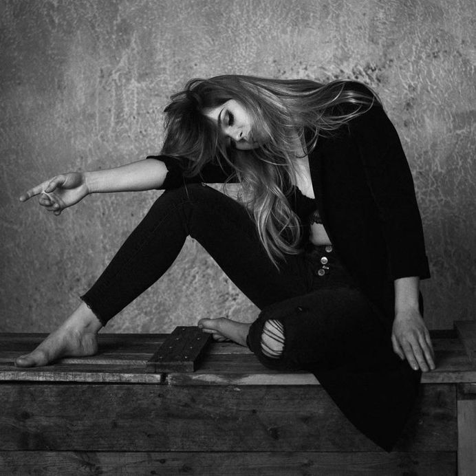 Awesome Black and White Portrait Photography by Marco Gressler